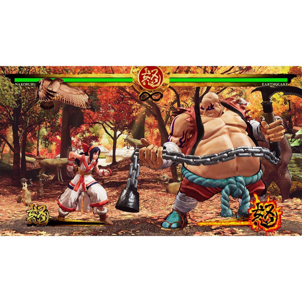 Samurai Shodown (input version: Beimi) on PS4