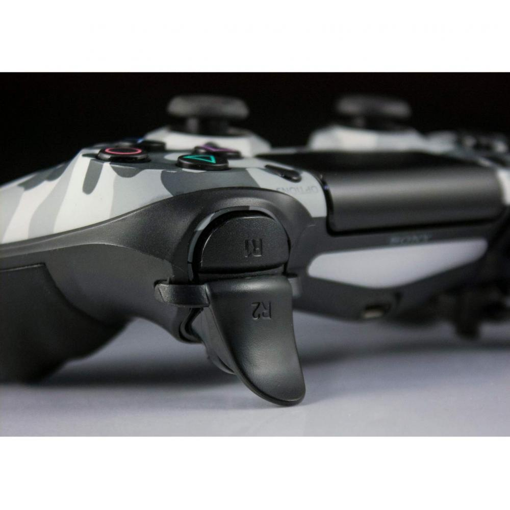 Extended trigger handle for SHEAWA PS4 controller L2 R2 Extended button Easy-to-press anti-slip clip Play Station 4