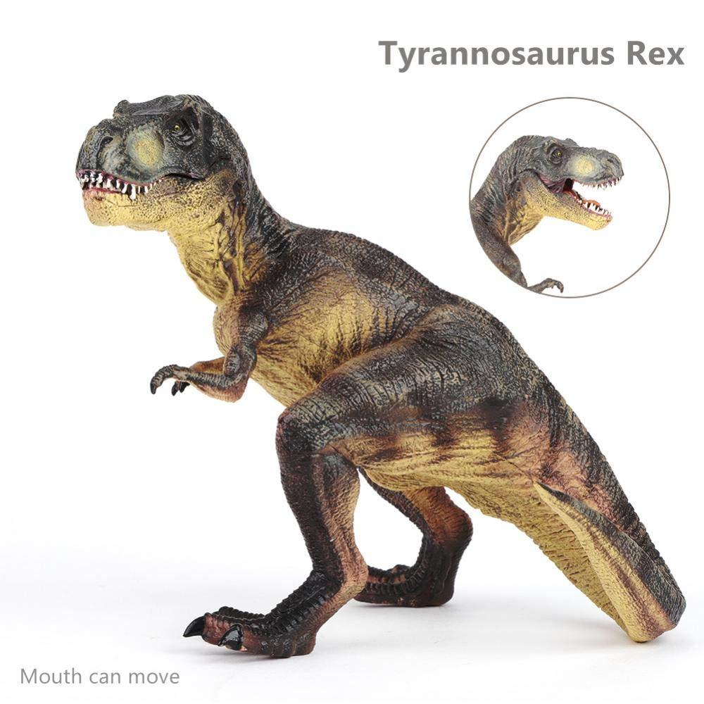 Yosoo dinosaur figure real dinosaur model figure dinosaur toys powerful carnivorous PVC made Tyrannosaurus figure