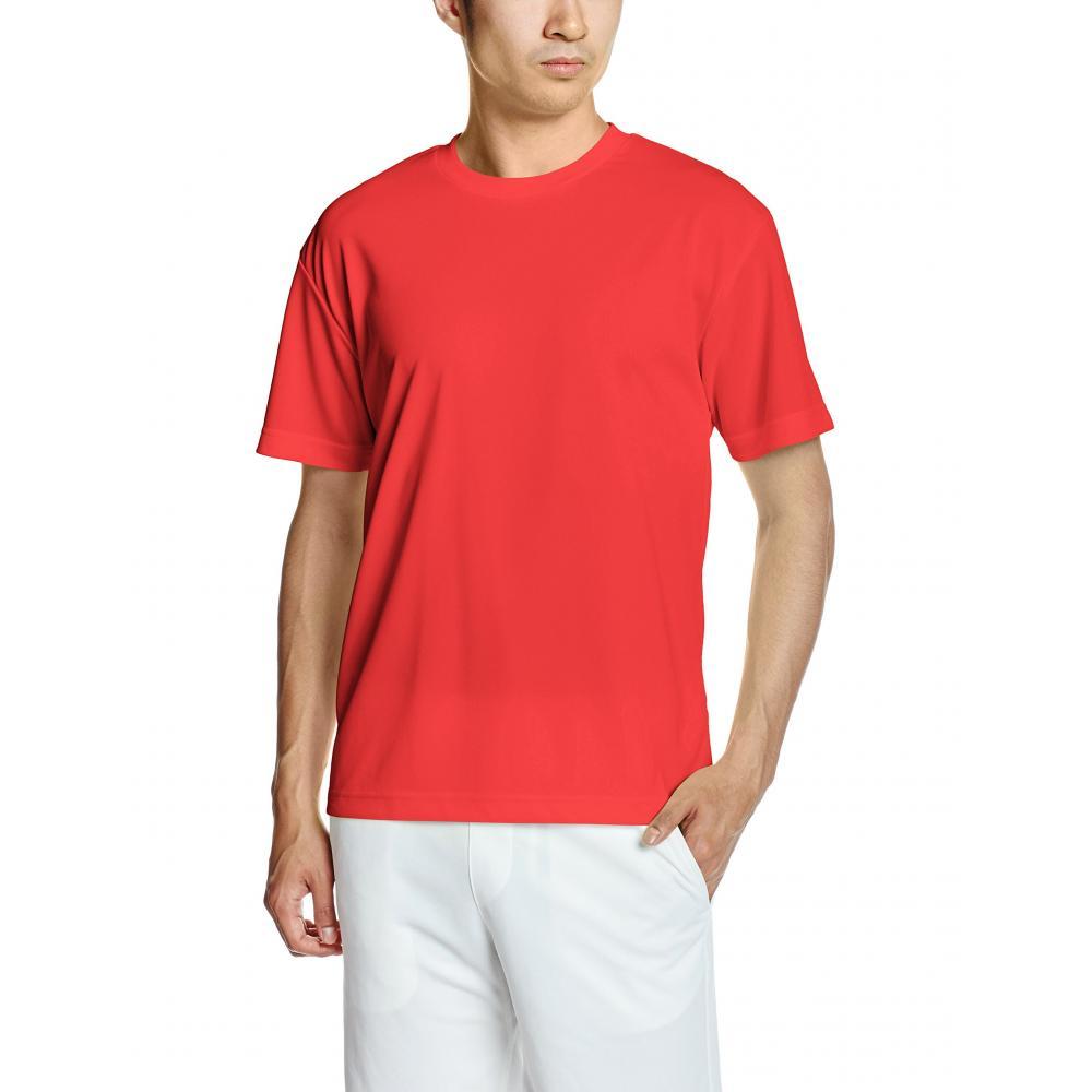 (United Athletes) UnitedAthle 4.1 oz Dry Athletic T-shirt 590001 [Men's] 069 Red S