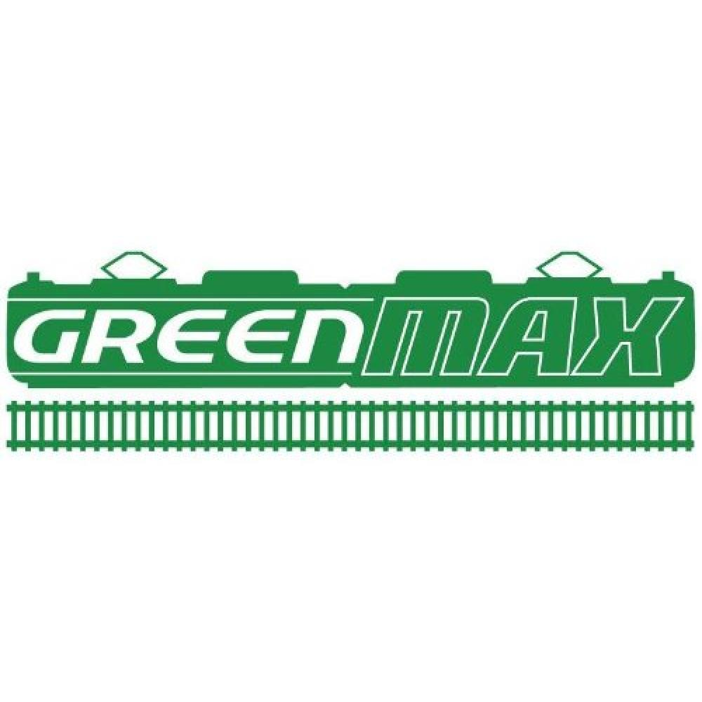 Max Green N gauge Kintetsu 30827 model railroad train 2-car train set powered with 12200-based snack car un-updated cars, Kuruma販 preparation room