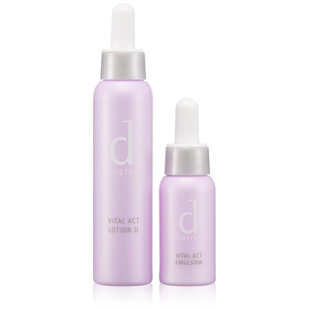 d Program Vitalact 7-day trial set N Lotion for sensitive skin 23ml + Emulsion for sensitive skin 11ml