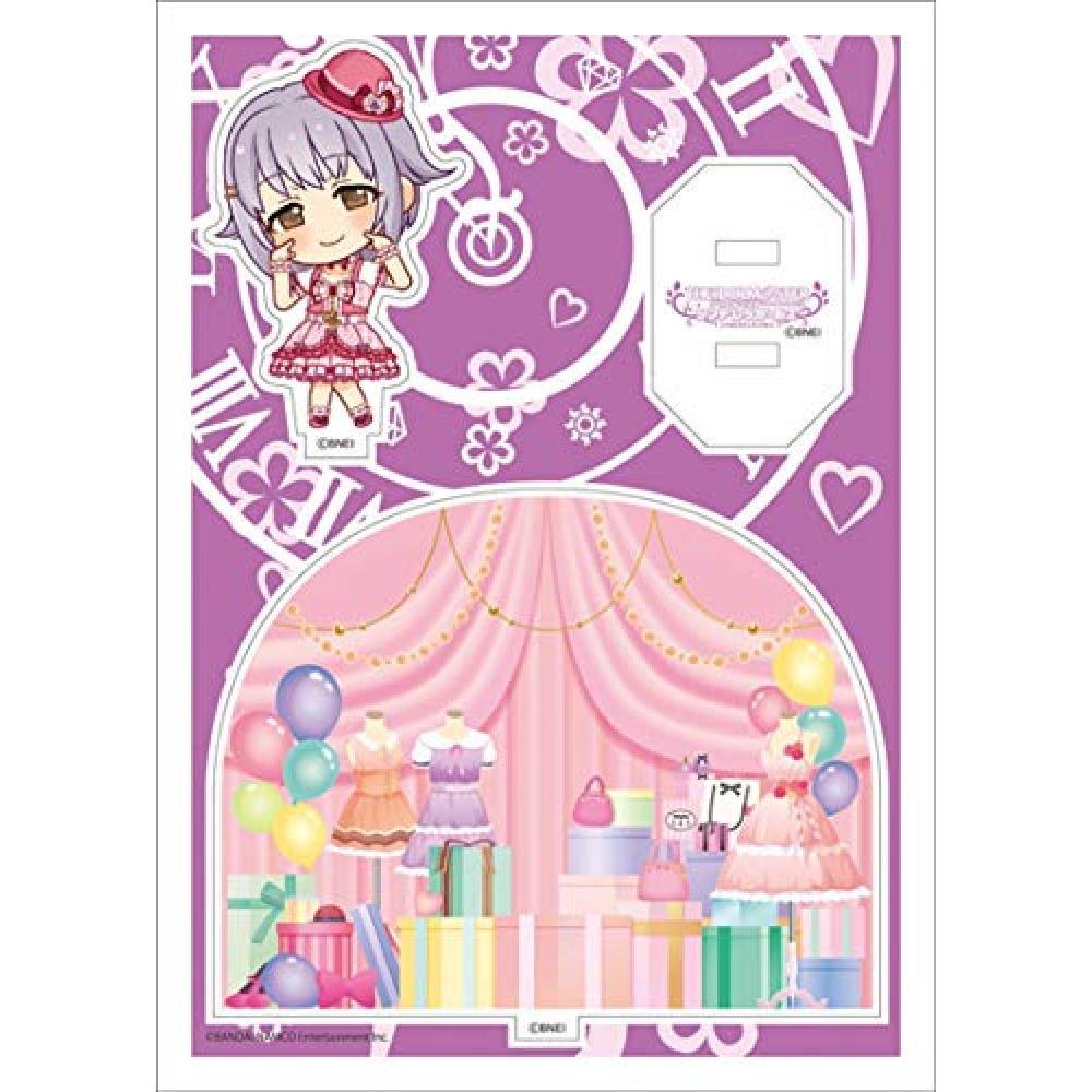 Idolmaster Cinderella Girls acrylic character plate Petit 13 Sachiko Koshimizu