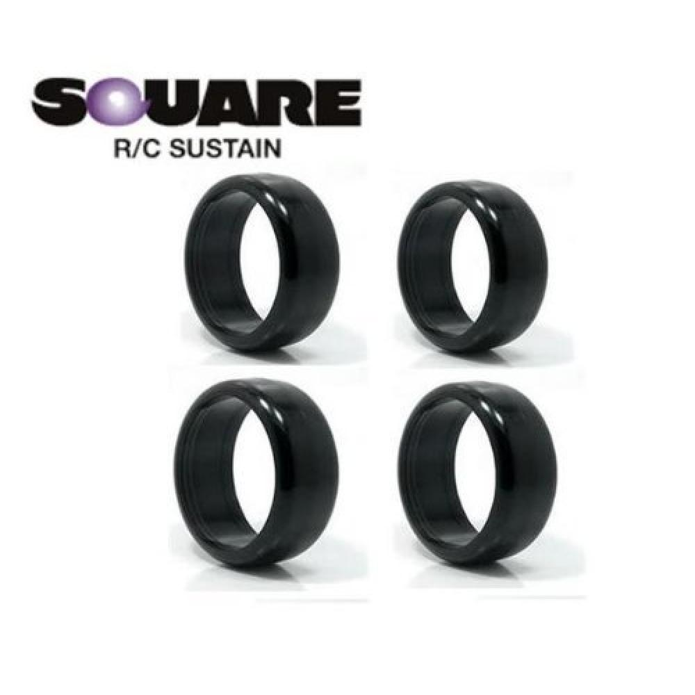 Plastic tire for square drift (hard) 4 pieces SRK-H1