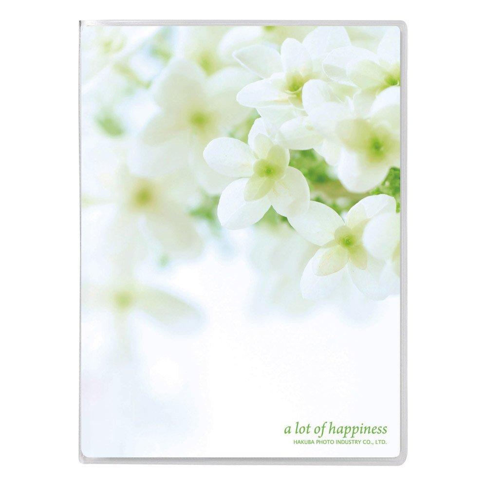 HAKUBA album P pocket album NP L size 20 sheets Flower white APNP-L20-FWW