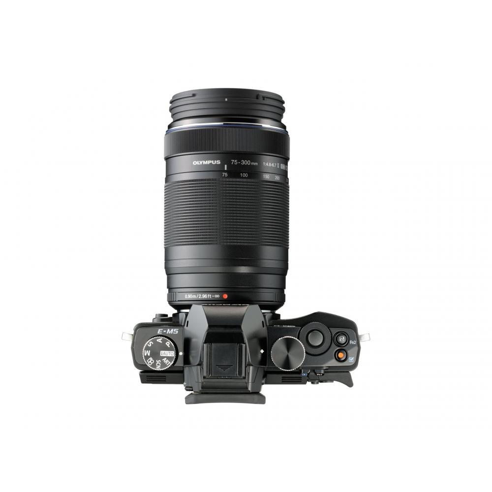 OLYMPUS super-telephoto zoom lens M.ZUIKO DIGITAL ED 75-300mm F4.8-6.7 II