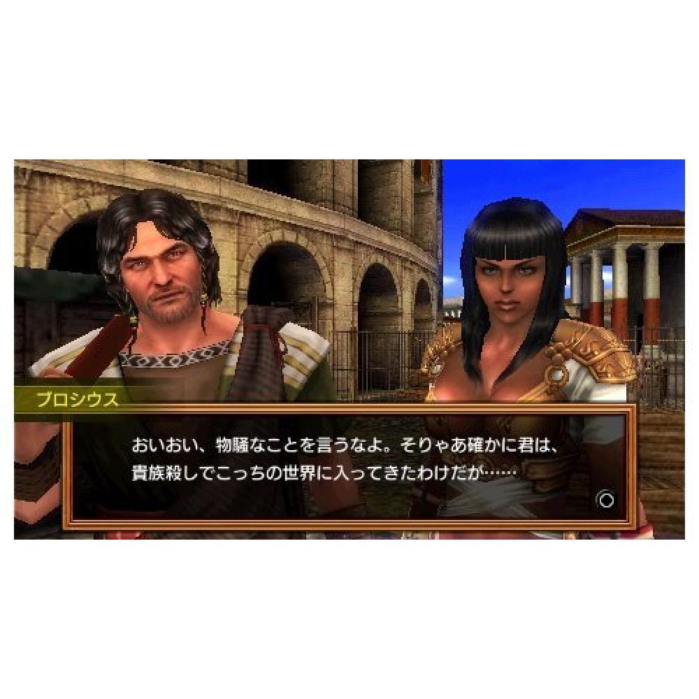 Gladiator Begins-PSP