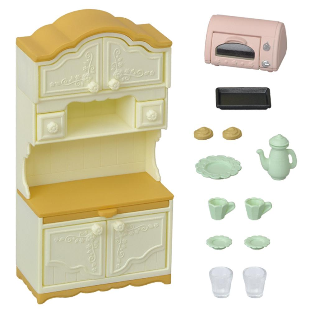 Sylvanian Families furniture cupboard toaster set mosquito -419