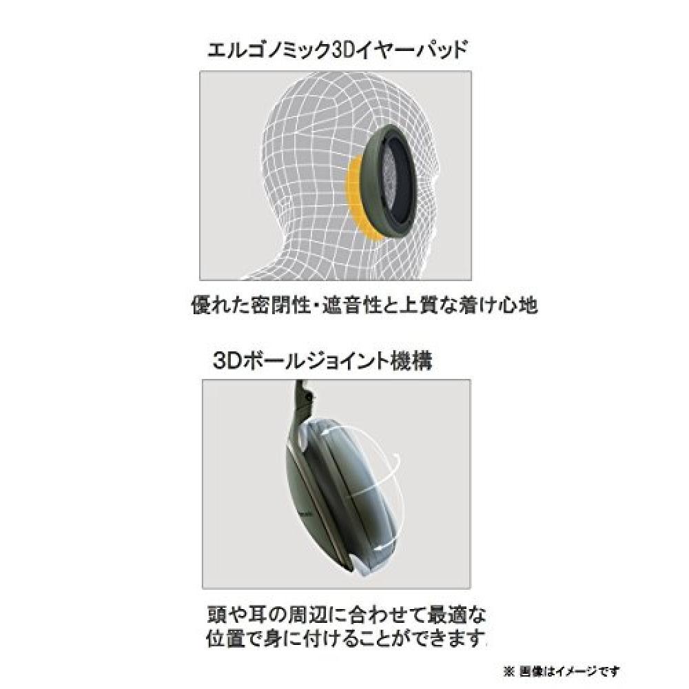 Panasonic sealed headphone wireless hi-res sound source corresponding black RP-HD500B-K