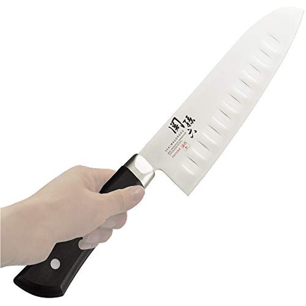 Kai kai Seki Sonroku Santoku Knife Dimple 165mm Honoka AB-5428