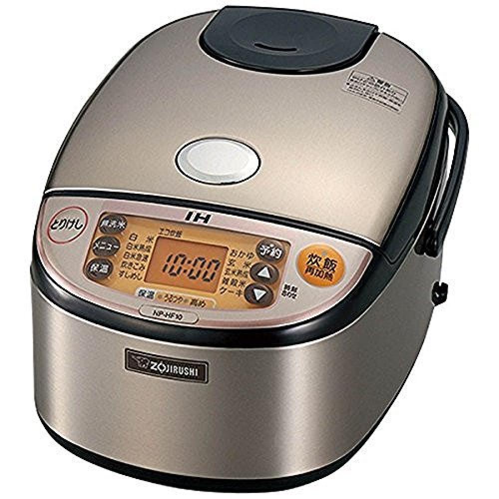 Zojirushi rice cooker IH formula 5.5 Go cook stainless NP-HF10-XA