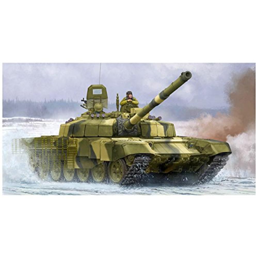 Trumpeter 1/35 Russian Armed Forces T-72B2 main battle tanks Rogatoka plastic model 09507