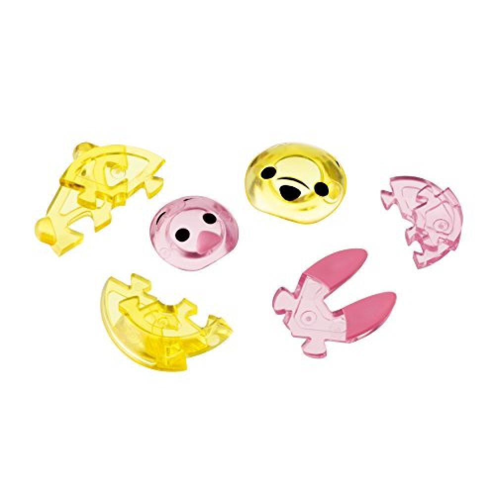 41 piece Crystal Gallery Tsumutsumu Winnie the Pooh and Piglet