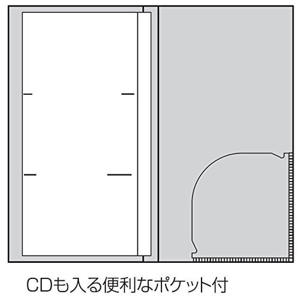 Nakabayashi PMX pocket album L size 3 steps 120 sheets Mickey & Minnie PMX-120-6-2