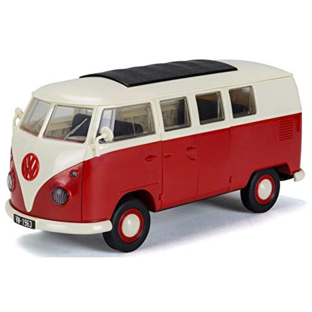 Airfix Quick Build series VW camper van painted block-type assembly kit QB6017 Plastic