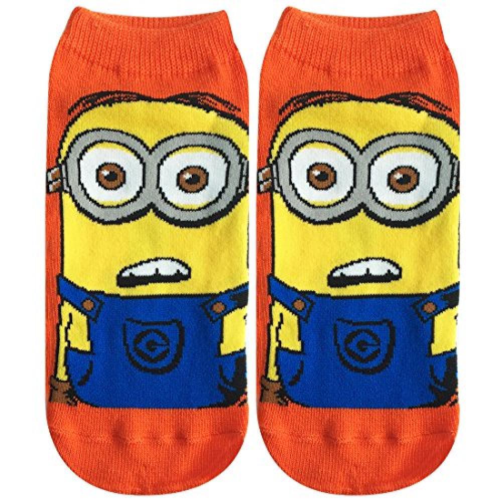 Minion socks Dave orange 22cm ~ 24cm MNSOC141