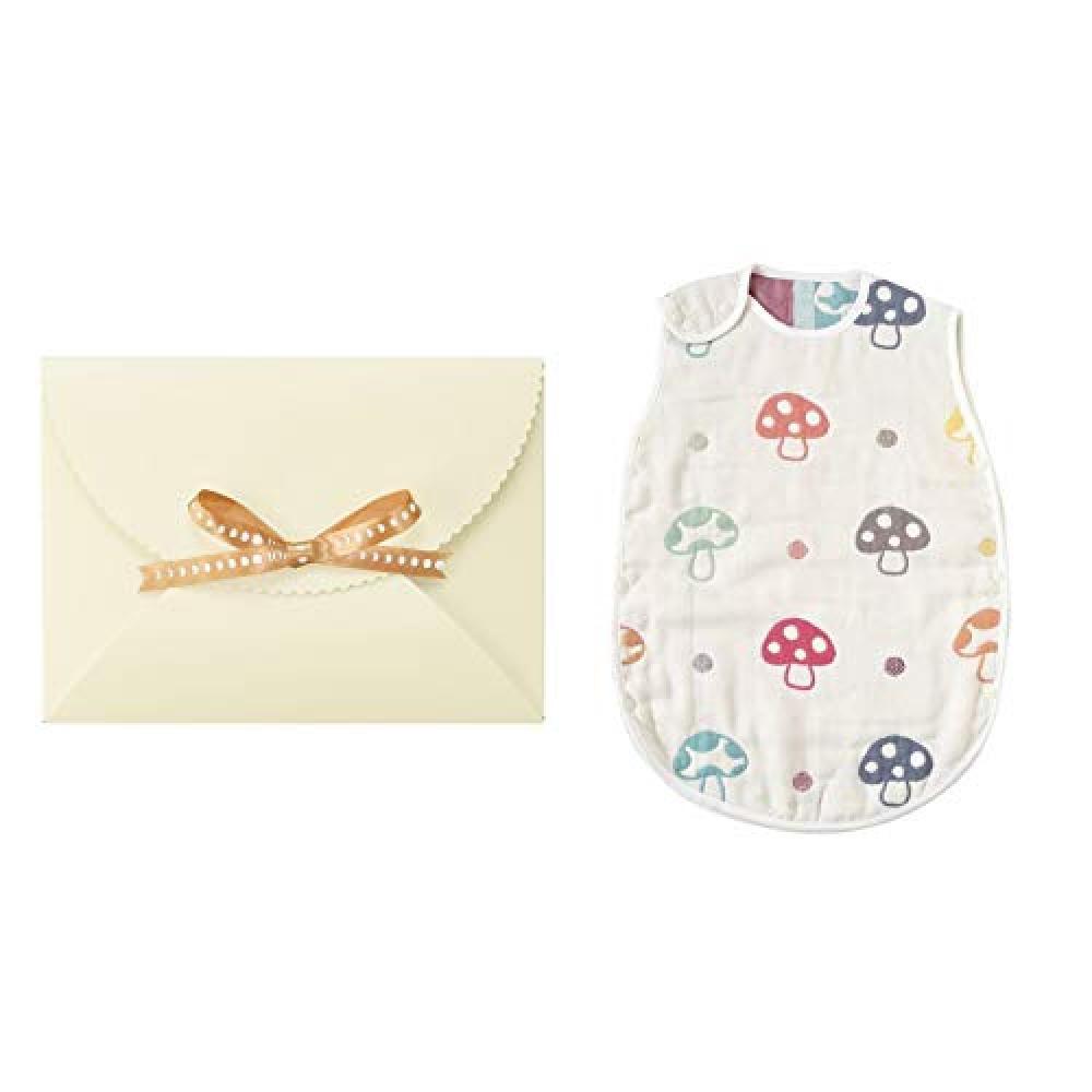 Hoppetta champignon 6 Layer Gauze Sleeper Gift Set (Baby Size) 18111037 Baby