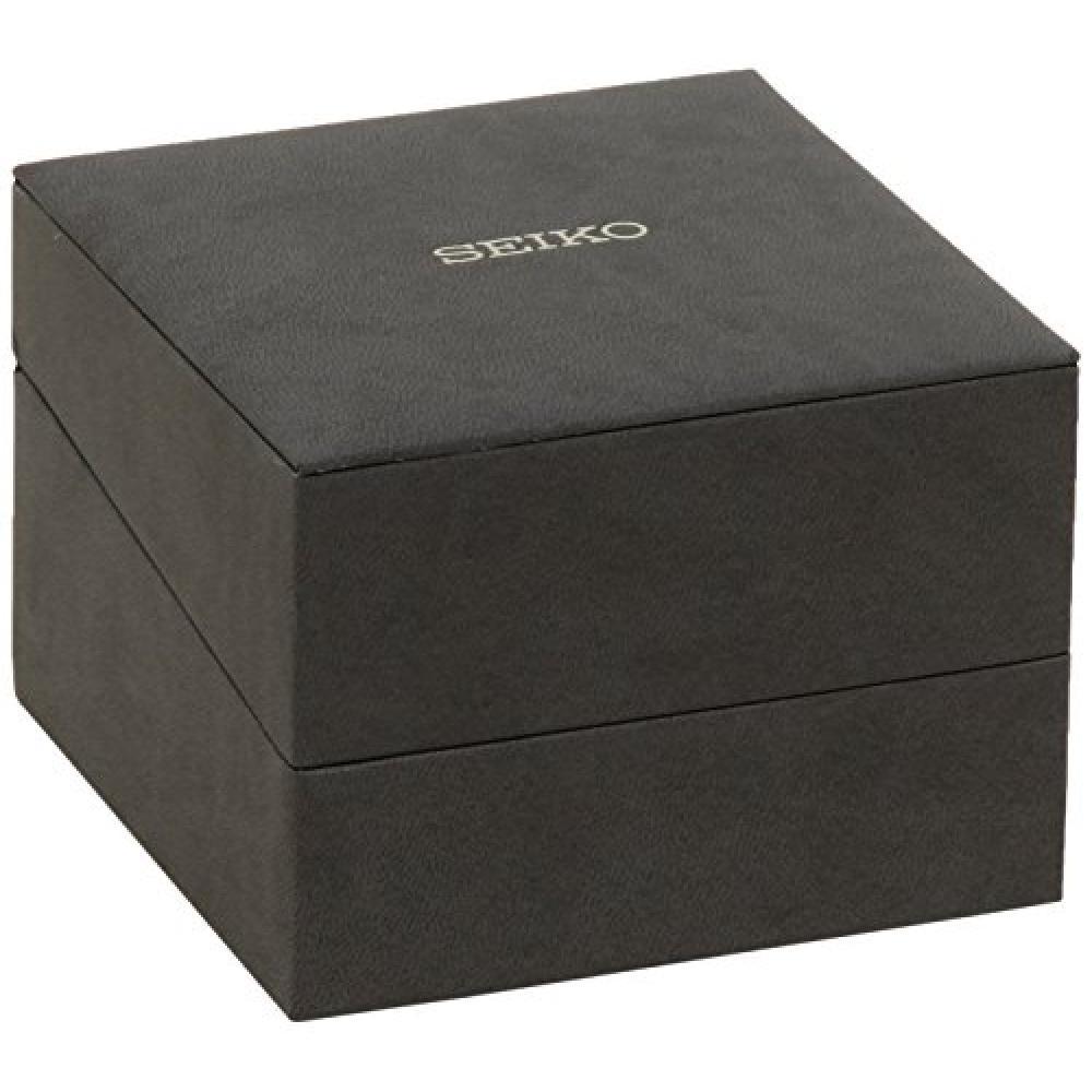 [Seiko Watch] Exceline Solar EXCELINE Tonneau Model SWCQ089 Watch Silver