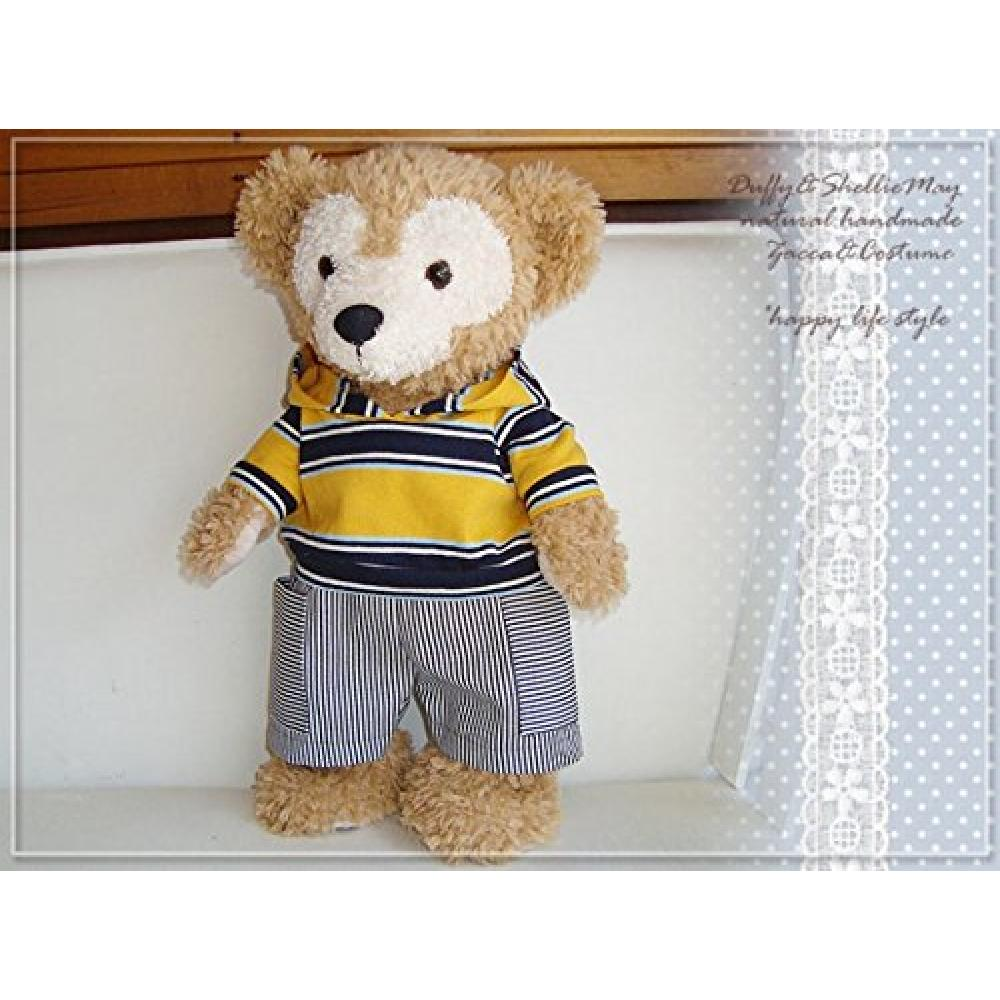 Duffy Sherry Mei Costume S size 43cm thick border hoodie & pants pk91