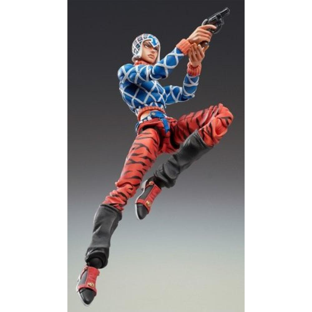 "Super Figure moveable ""JoJo's Bizarre Adventure"" Part Five 34. Guido Mista & Sex Pistols (Hirohiko Araki Specify Color) (reproduction)"
