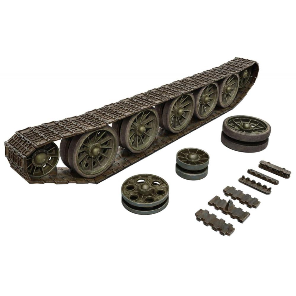 Mini Art 1/35 T-34/85-induced wheel-drive sprocket track set parts for the Late Model Car MA35227