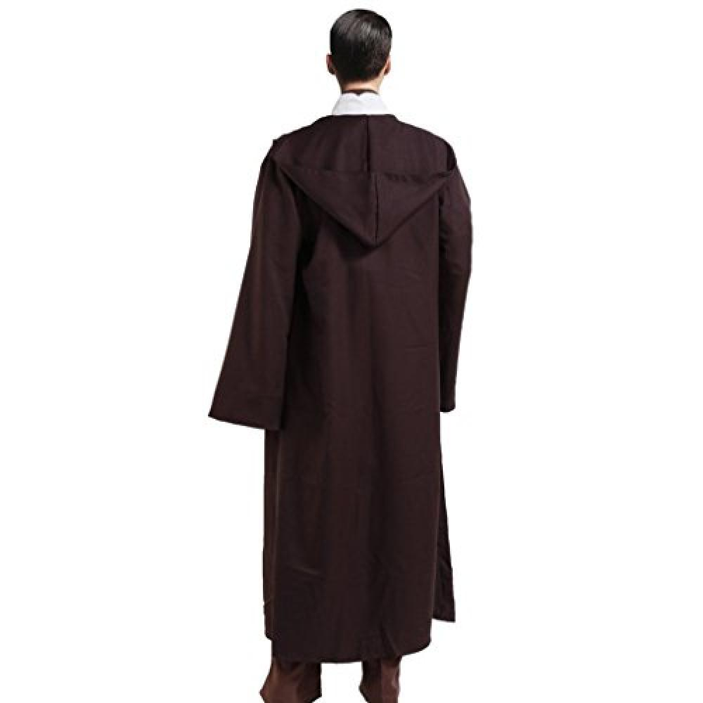 Men's tunic hooded robe cloak knight costume cool Cosplay Costume