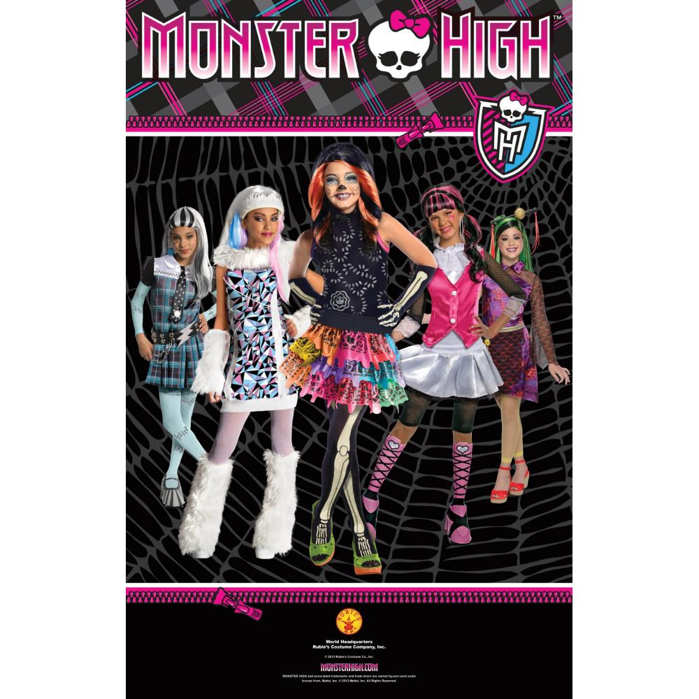 Monster High Dorakyurora wig costume accessories for girls