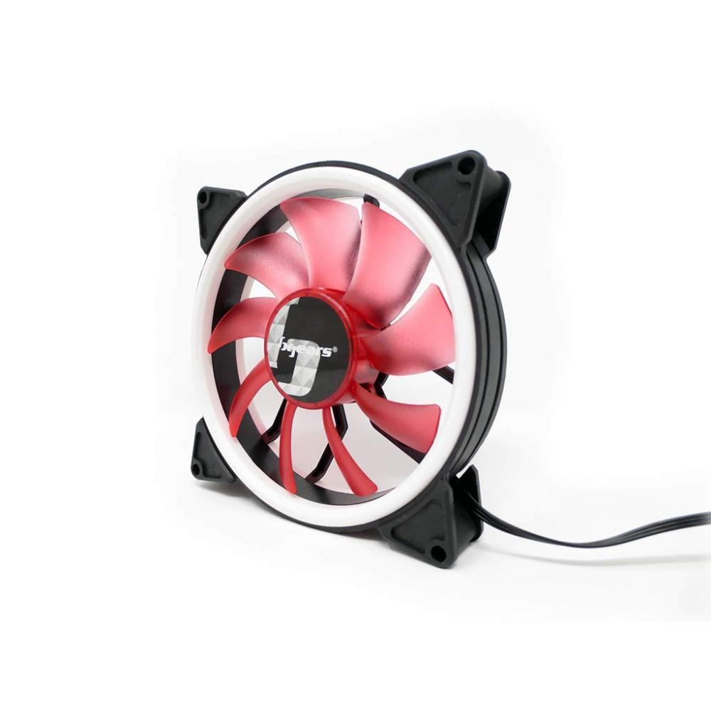 [B gears] PC fan b-dual ring 120 [red]