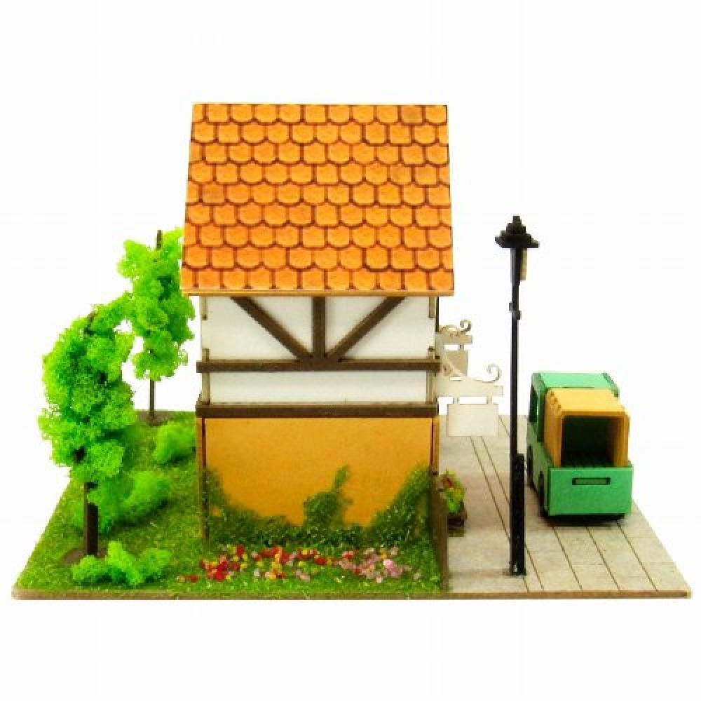 Sankei Miniatuart Mini small streets MP05-04