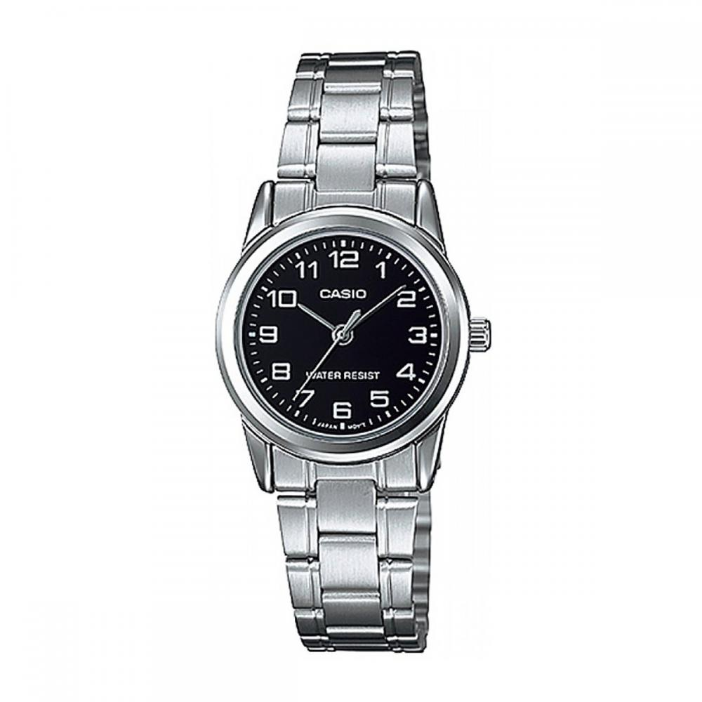 CASIO STANDARD ANALOGUE LADYS Casio Standard Analog Ladies LTP-V001D-1B
