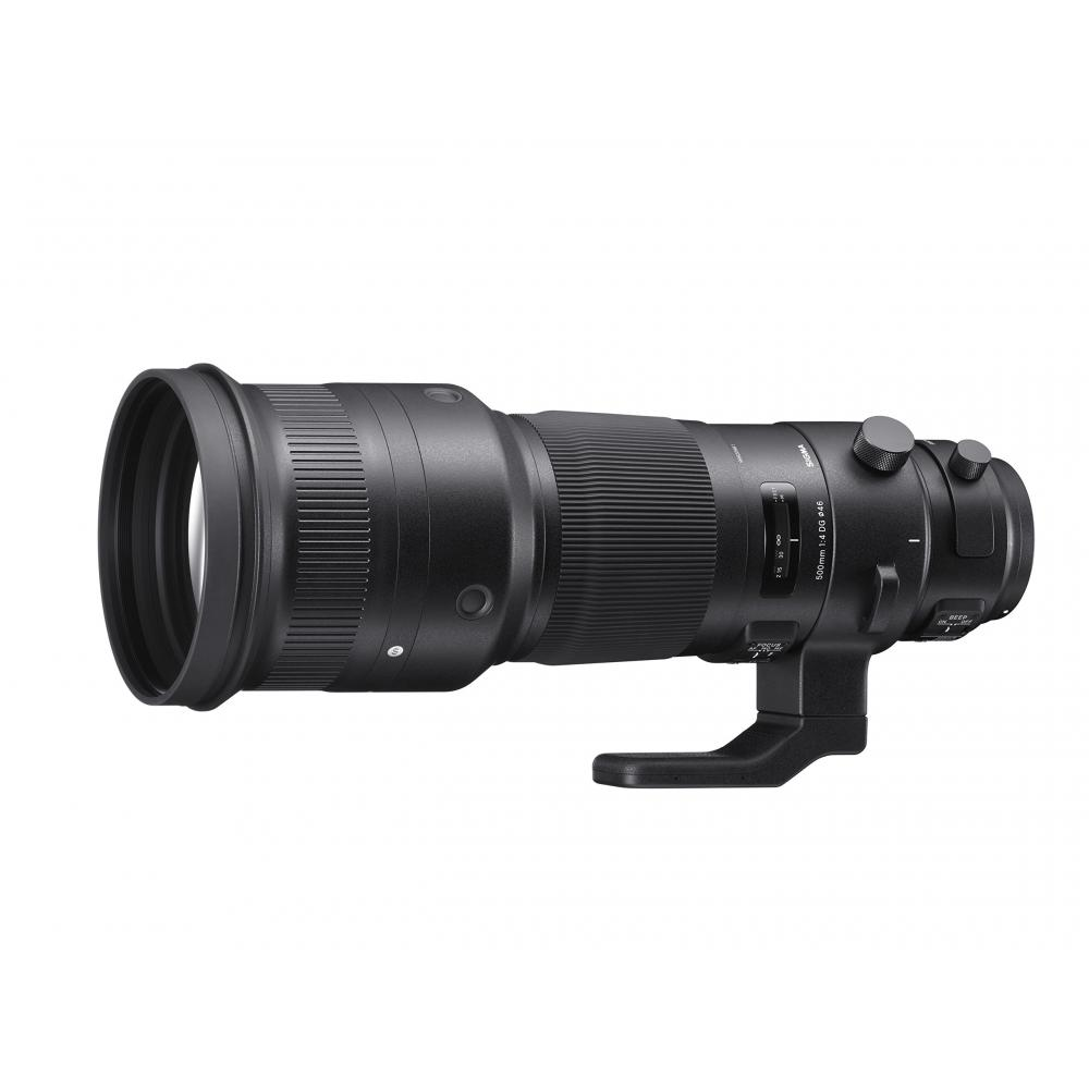 SIGMA super-telephoto lens Sports 500mm F4 DG OS HSM Nikon full-size support for