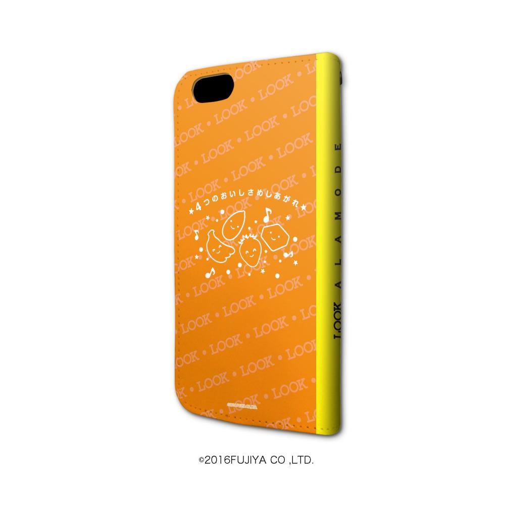 Fujiya 01 LOOK notebook type Sumahokesu iPhone6 / 6s / 7/8 combined