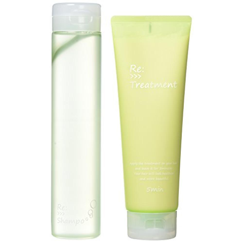 Ajuban Re: Shampoo 300ml & Re: Treatment 250g set