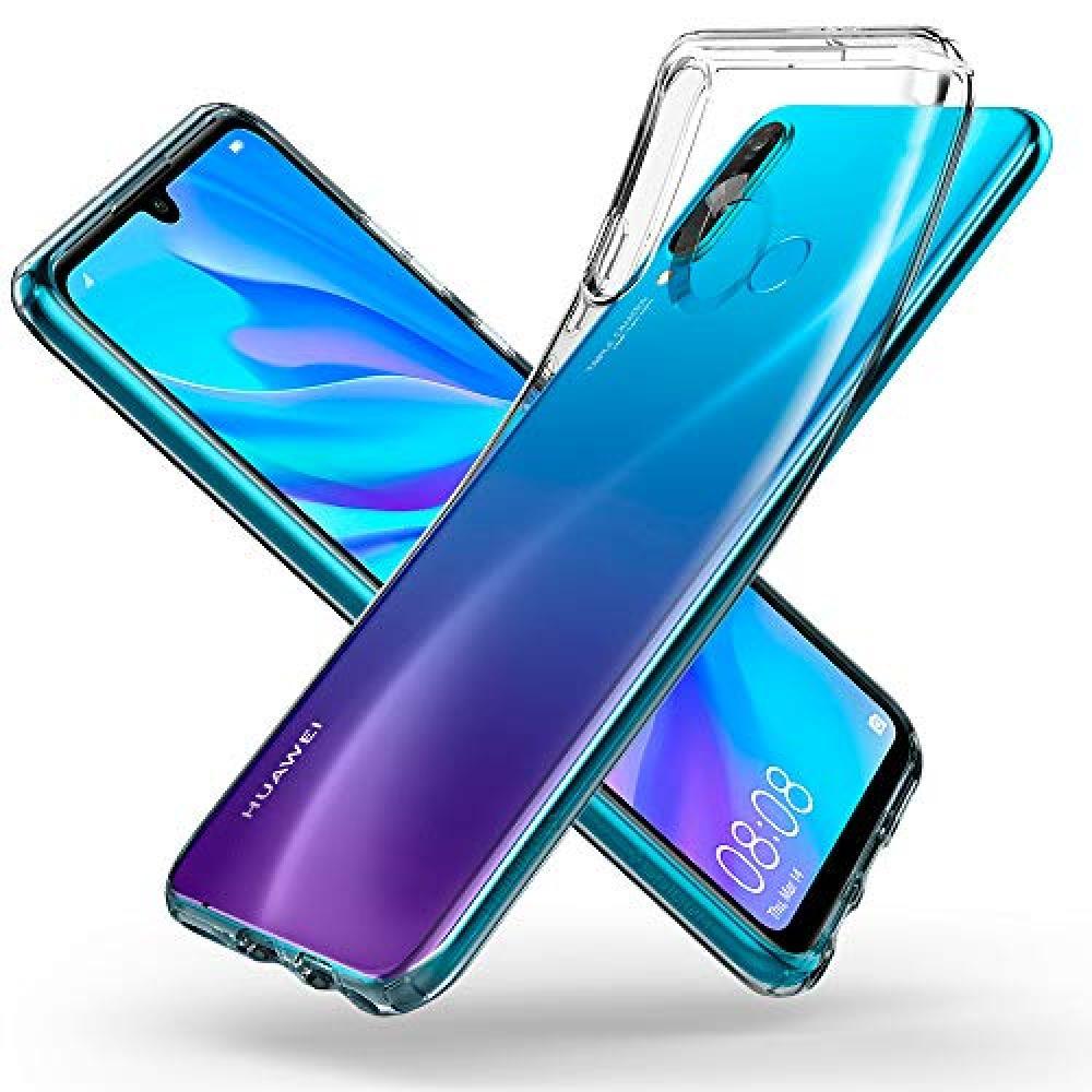 [Spigen] HUAWEI P30 lite Case TPU Clear Ultrathin Ultralight Liquid Crystal L39CS25740 (Crystal Clear)