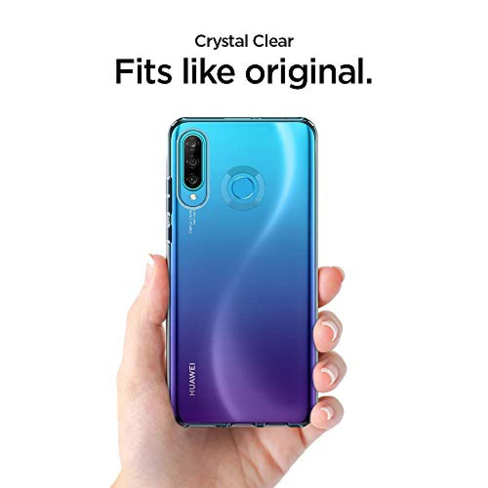 [Spigen] HUAWEI P30 lite Case TPU Clear Ultrathin Ultralight Liquid Crystal L39CS25740 (Crystal Clear)