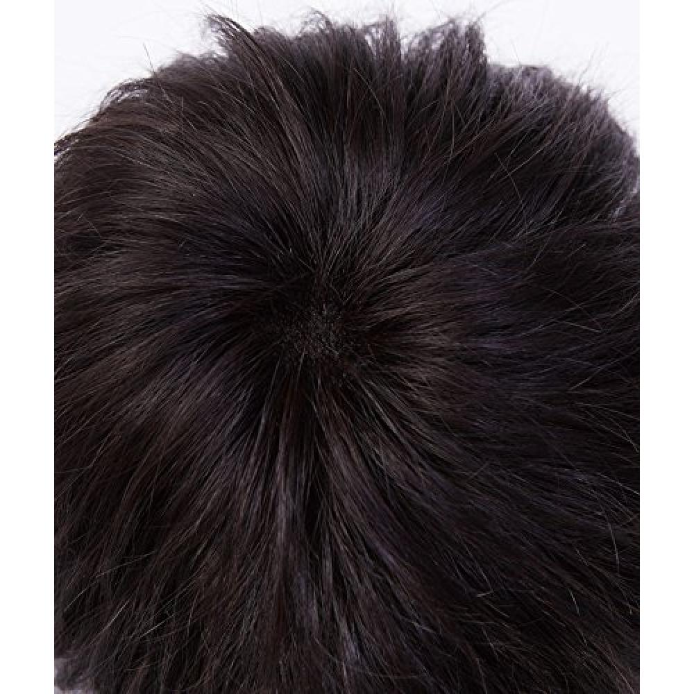 Jig wig series Homme Libre casual style / Natural Black M size