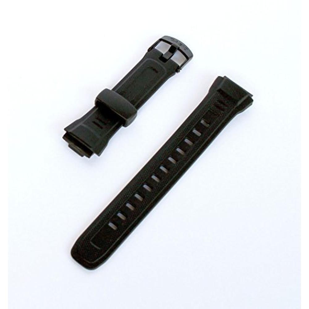 CASIO (Cassio) Wave Scepter Genuine replacement band Belt Urethane Black 10243173