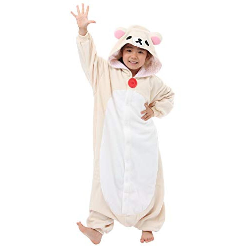 Children's [fleece costume] cute Korilakkuma 130