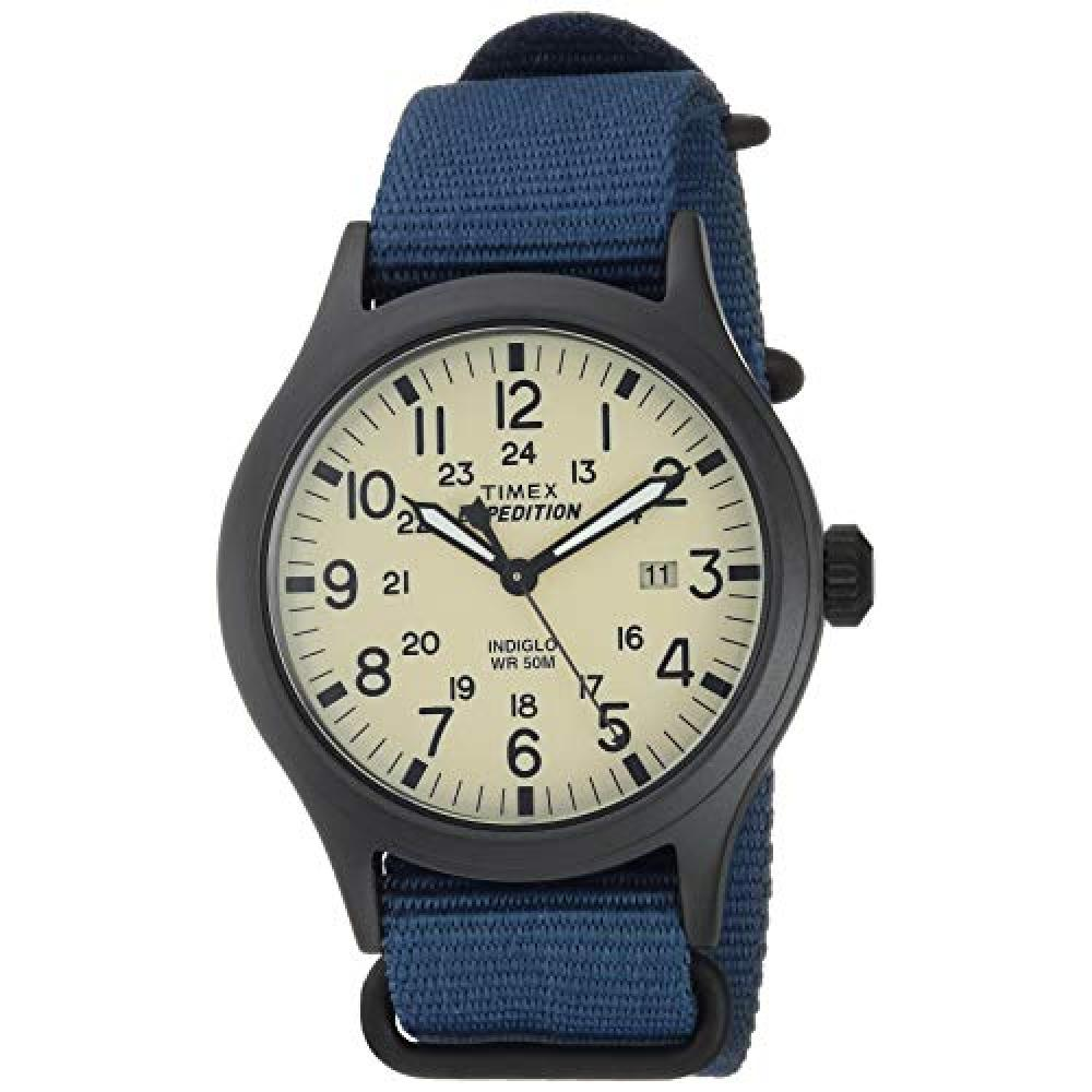 Timex Men's Expedition Scout 40 Watch Blue/Black/Cream