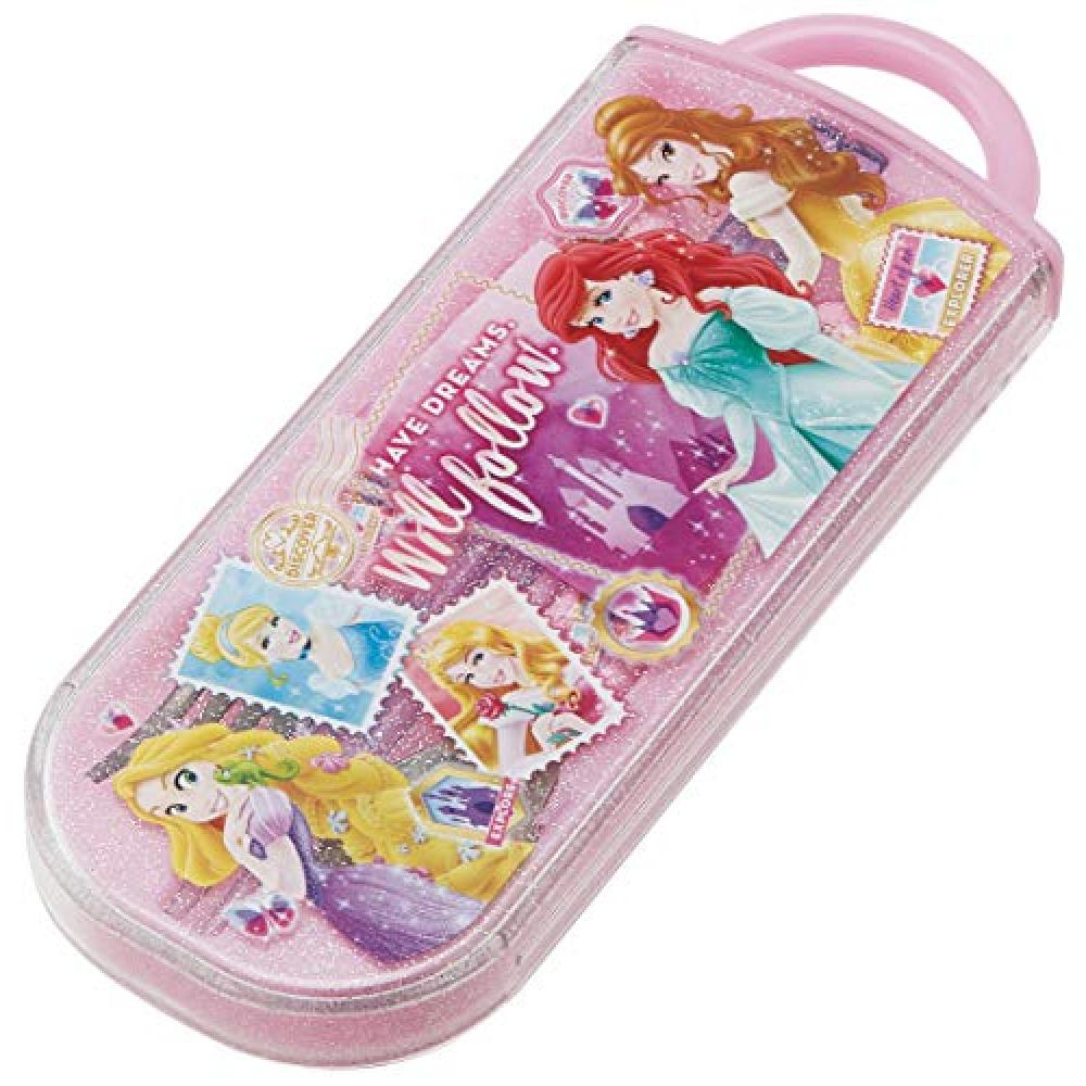 Skater Bento Chopsticks Children's Trio Set Chopstick Spoon Fork Princess Disney 16.5cm TACC2
