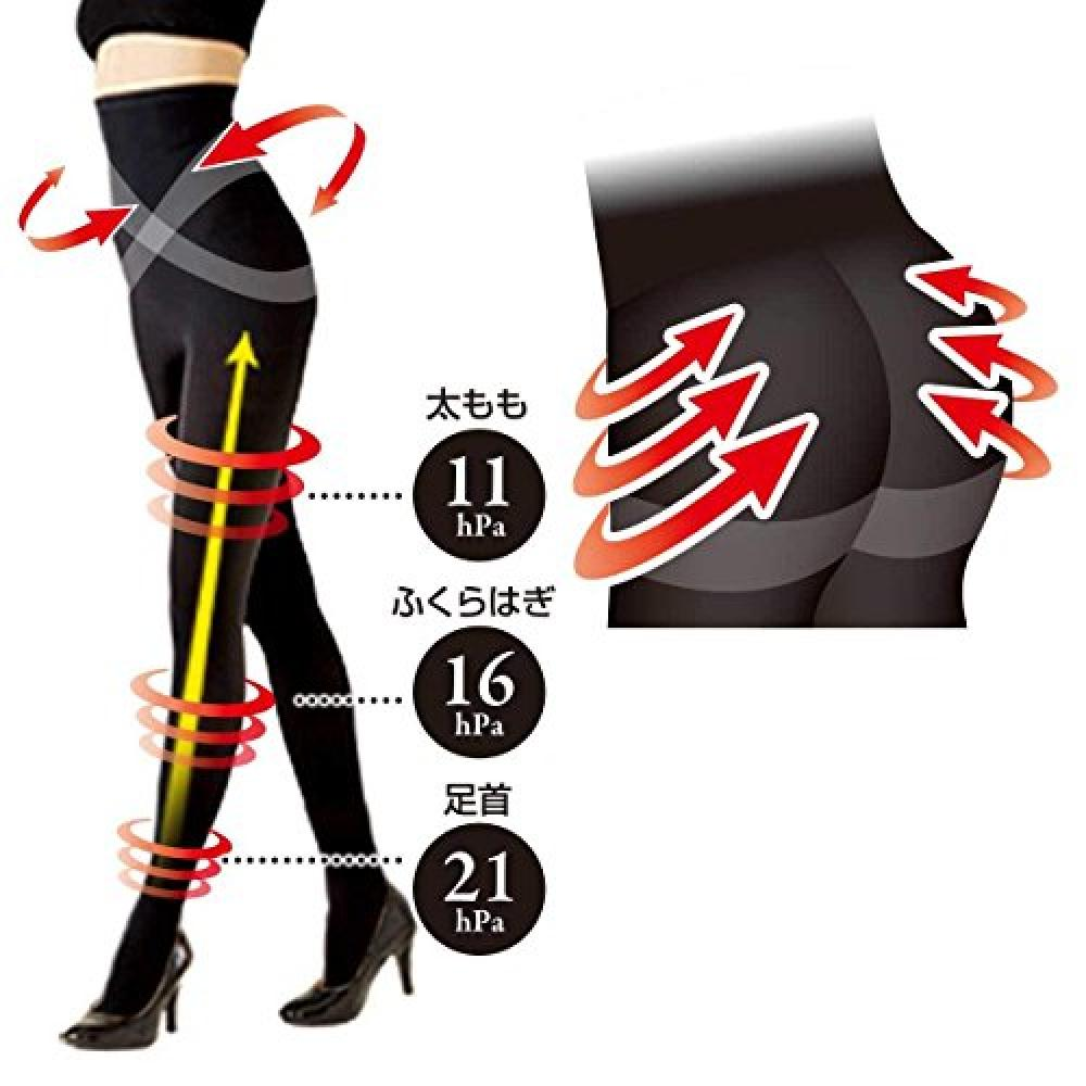 Slowly medicute pressure leggings slim waist M pressure waist tightening effect