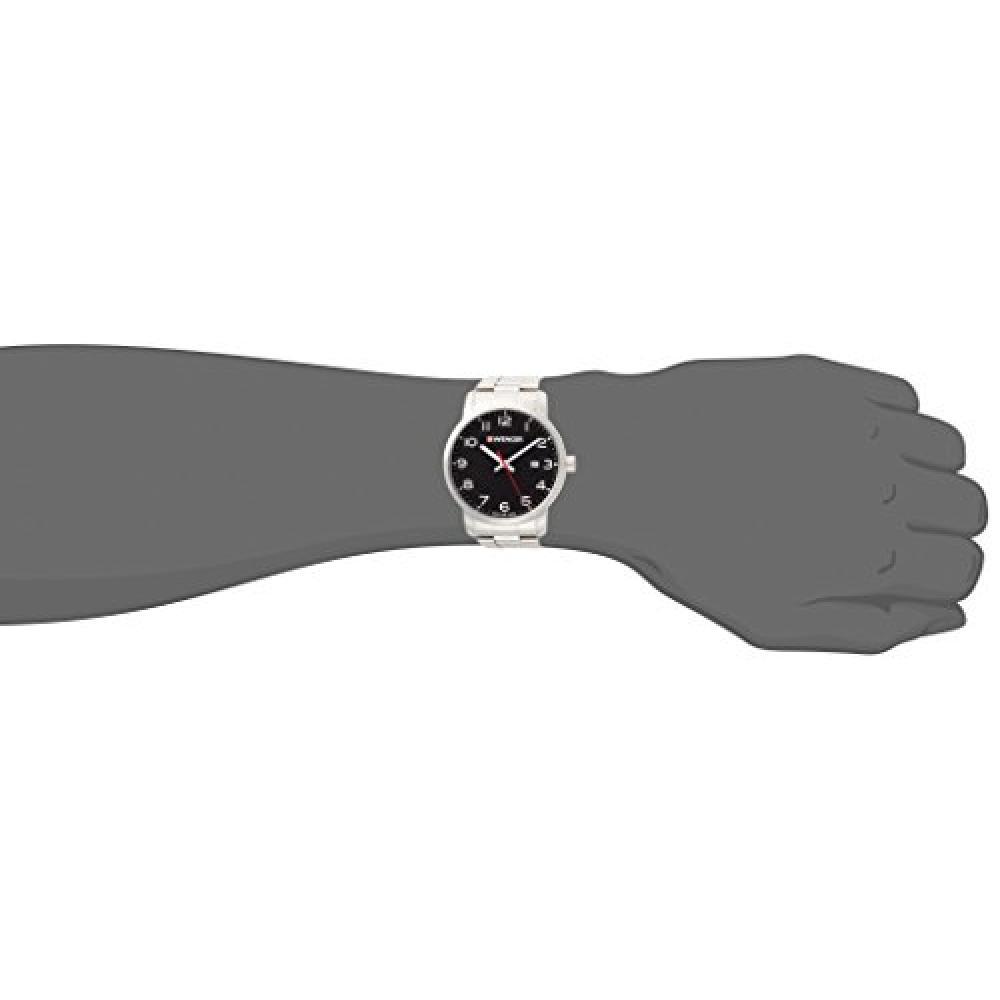 [Wenger] Wrist Watch 01.1641.102 Silver