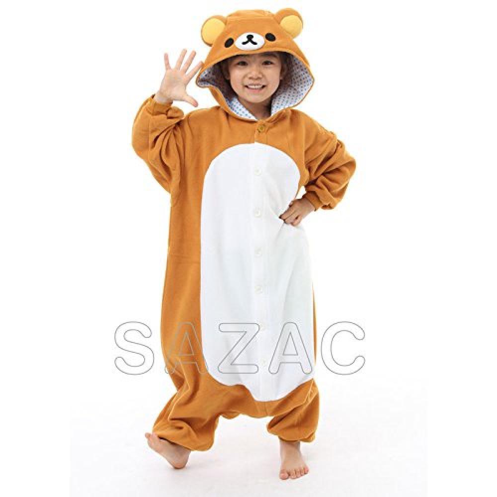 SAZAC fleece costume Rilakkuma for children 110