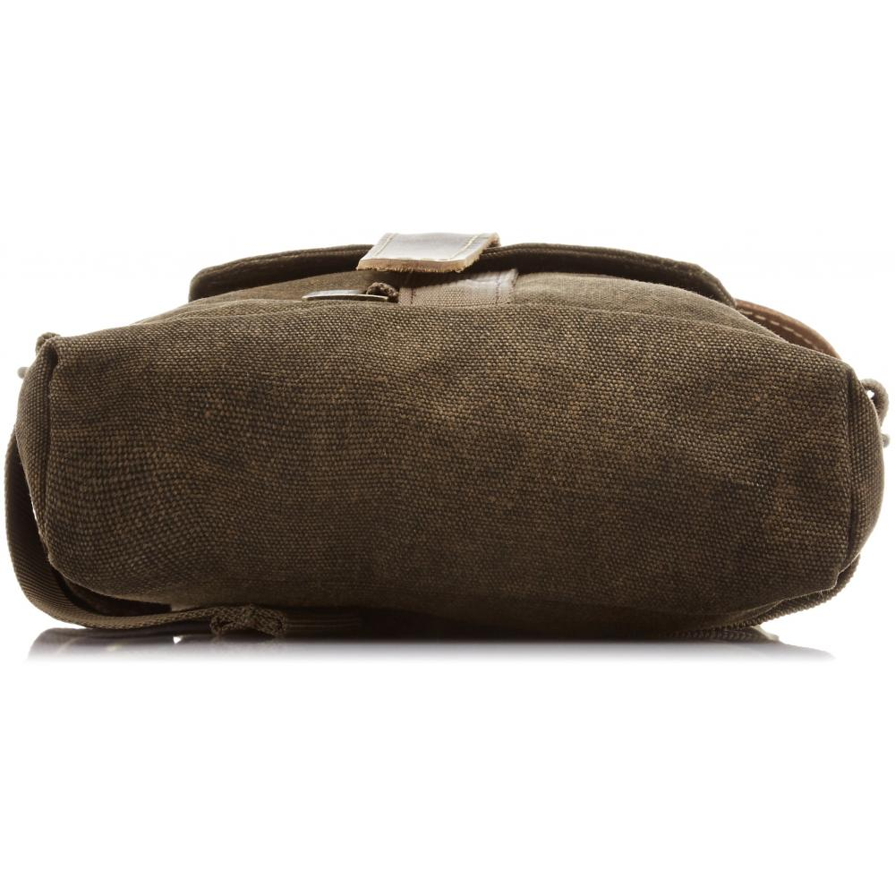 NATIONAL GEOGRAPHIC sling bag Africa collection 1.6L 11 inch tablet storage possible Brown canvas NG A4567