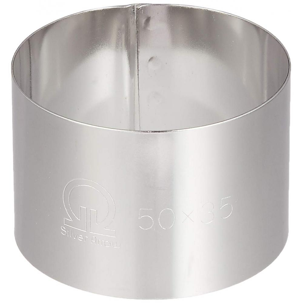 Cercle ring round type φ50×H35mm 18-0 stainless steel for business use WSL08004