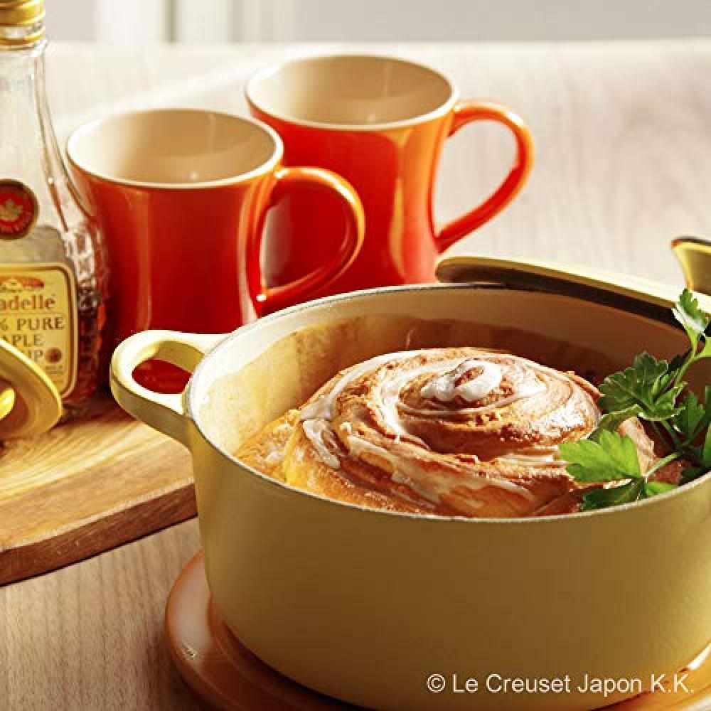 Le Creuset Cast Enamel Pan Cocotte Rondo 18 cm Soleil Gas IH Oven Compatible