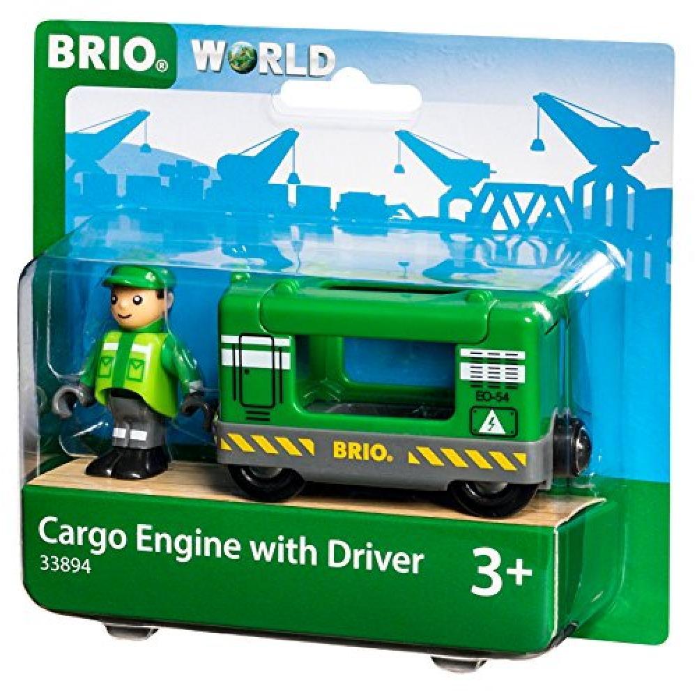BRIO WORLD cargo engine & driver