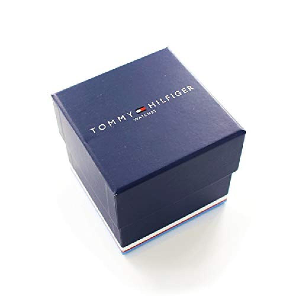 [Tommy Hilfiger] Tommy Hilfiger [With Pair Storage Case Box] Pair Watch Leather Leather Belt Black Light Beige 17914941781765 Wrist Watch