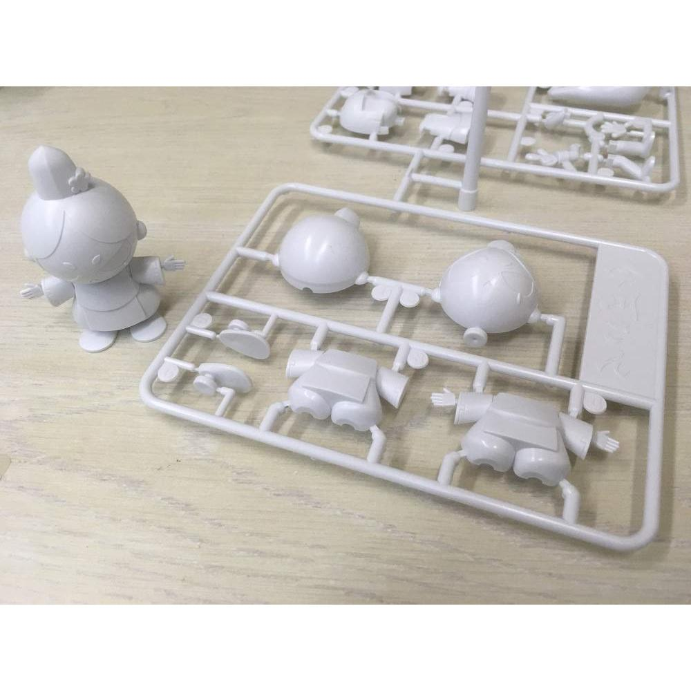 Asuka model Choto Plastic Model Series Imagawa's 2 pieces plastic model YWCP-002