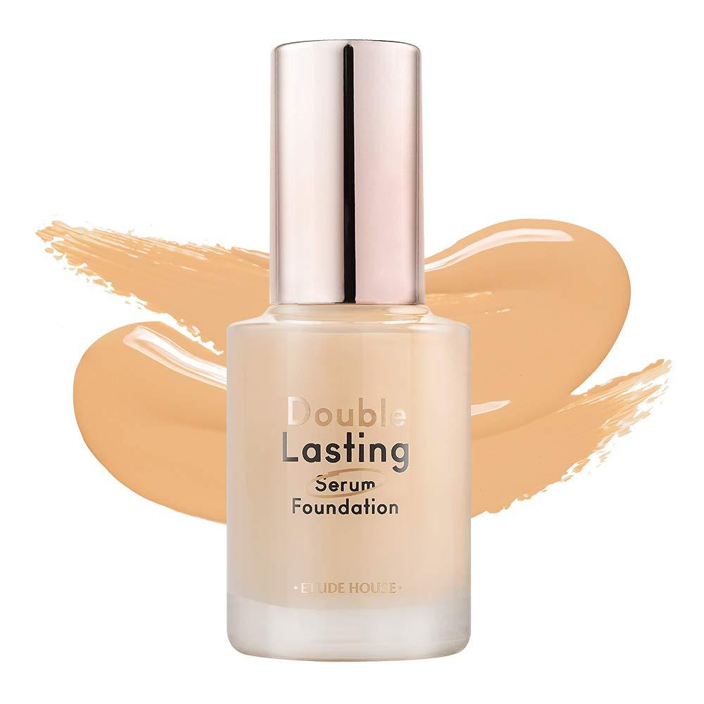 ETUDE HOUSE Double Lasting Serum Foundation Honey Sand [Liquid foundation, foundation, glossy skin, hard to collapse]